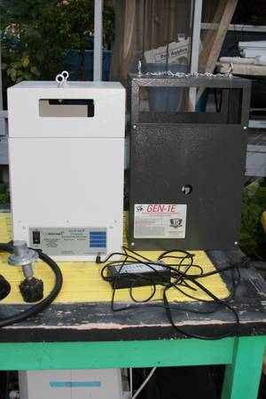 USED CO2 GENERATOR WITH 2 BURNER SENTINEL