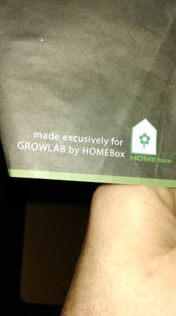 10x10x7 grow tent Growlab by Homebox