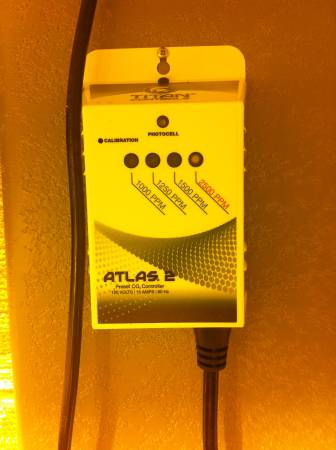 Never Used Titan Controls Atlas Carbon Dioxide Gas Monitor Controller